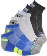 Skechers Boys' 6-Pack Half Terry Low Cut Socks