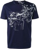 Moncler stitched motif T-shirt - men - Cotton/Acrylic/Polyester - S