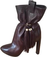 Celine Brown boots