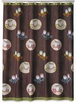 Shower Curtain Company Allure Home Creations Awesome Owls Microfiber Printed Shower Curtain