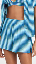 Thumbnail for your product : Frankie's Bikinis Coco Terry Shorts