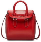 Alexander McQueen Heroine Mini Satchel Bag, Red