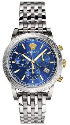 Versace Tech Chronograph Bracelet Watch, 40mm