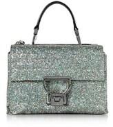 Coccinelle Women's Silver Glitter Handbag.
