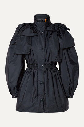 MONCLER GENIUS + 4 Simone Rocha Susan Bow-embellished Shell Down Jacket - Navy
