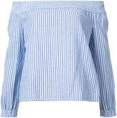 Rag & Bone Jean - off-the-shoulder blouse - women - Cotton - XS