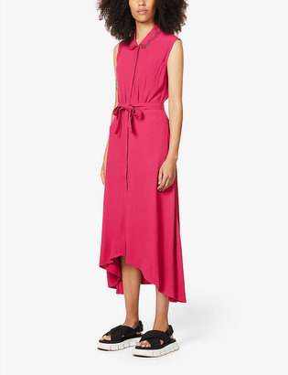 Claudie Pierlot Rilana crepe maxi dress