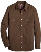 Dickies Men's Long Sleeve Flannel Shirt