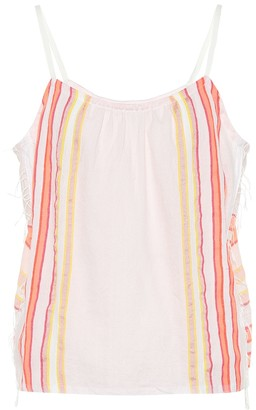 Lemlem Eskedar cotton-blend camisole