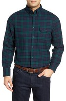 Men's Nordstrom Men's Shop Classic Fit Plaid Flannel Shirt