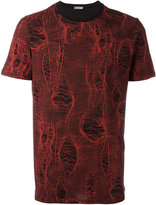 Christian Dior broken stitch print T-shirt