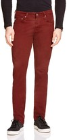AG Jeans Matchbox Slim Fit Jeans in Red