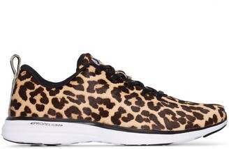 Athletic Propulsion Labs Iconic pro leopard-print sneakers