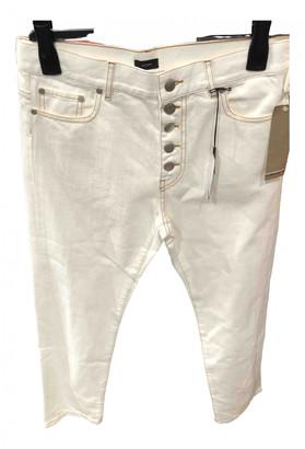 Joseph Ecru Cotton Jeans