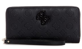GUESS Noelle Large Zip Around Wallet Wristlet