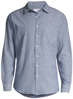 Onia Abe Linen & Cotton Shirt