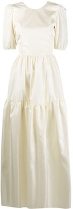 Loulou Long Panelled Dress