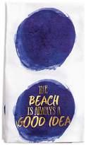 Rosanna The Beach is Always a Good Idea Tea Towel