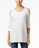 Style&Co. Style & Co. Cold-Shoulder Thermal Top, Only at Macy's