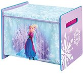 Disney Frozen Kids Toy Box – Bedroom Storage with Child Safe Fabric Lid by HelloHome