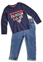 GUESS Ryder Logo Long-Sleeve Set (12M-4T)