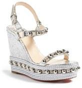 Christian Louboutin Women's Cataconico Wedge Sandal