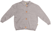Nui Silver Norma Button-Up Organic Cardigan - Infant & Toddler