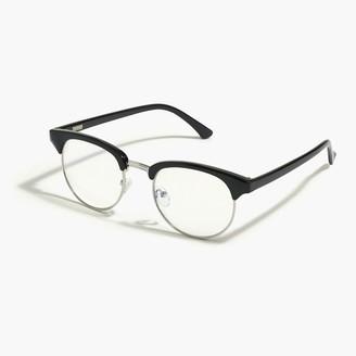 J.Crew Retro frame blue-light glasses