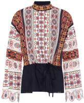 Tory Burch Carina cotton top