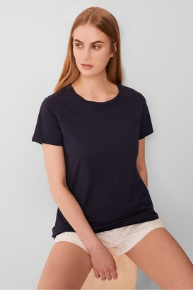 French Connection Classic Neon Crew Short Sleeve T-Shirt