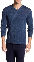 Autumn Cashmere Ribbed V-Neck Sweater