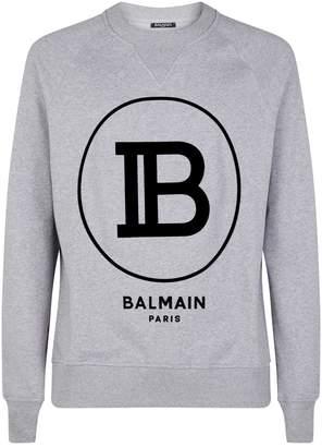 Balmain Large Logo Sweatshirt
