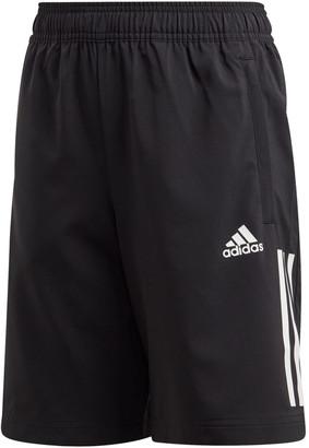 adidas Boys 3-Stripes Woven Training Shorts