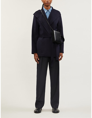 Joseph Lima slim-fit wool-blend coat