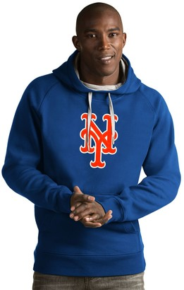 Antigua Men's New York Mets Victory Logo Hoodie