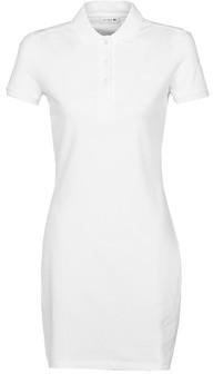 Lacoste EUGENIE women's Dress in White