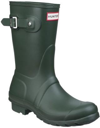 Hunter Original Short Welly Boot - Green