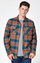 Tavik Vincent Plaid Flannel Long Sleeve Button Up Shirt