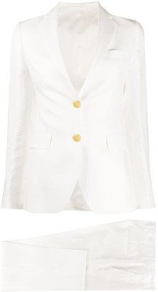Tagliatore Single-Breasted Three-Piece Suit