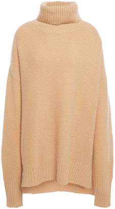 N.Peal Oversized Cashmere Turtleneck Sweater
