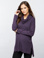A Pea in the Pod Splendid Cowl Thermal Maternity Shirt