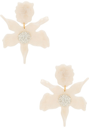 Lele Sadoughi Crystal Lily Earring
