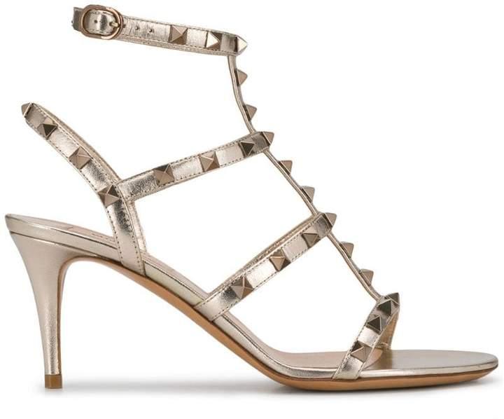 6f31bdb4aa00 Valentino Gold Women s Sandals - ShopStyle