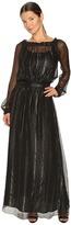 Versace Long Sleeve Gown Women's Dress
