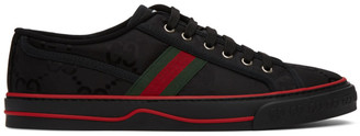 Gucci Black Tennis 1977 Off The Grid Sneakers