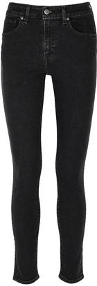 Levi's 721 Charcoal Skinny Jeans
