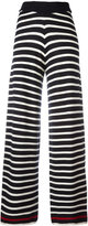 Chinti and Parker knitted Breton stripe trousers - women - Merino - XS