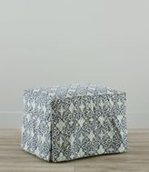 L.L. Bean Slipcovered Ottoman, Floral