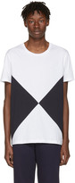 Burberry White Fallow Flag Diamond T-Shirt
