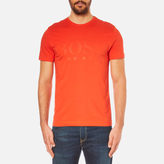 BOSS GREEN Men's Tee US Tonal Logo TShirt - Orange
